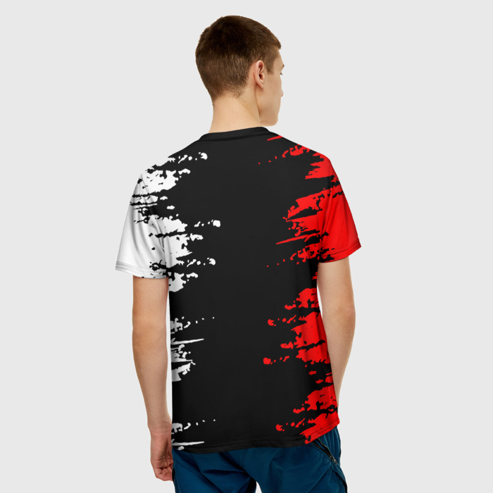 Merchandise Men'S T-Shirt Image Cyberpunk Apparel Print