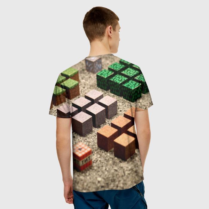 Merch Men'S T-Shirt Footage Print Minecraft Merchandise