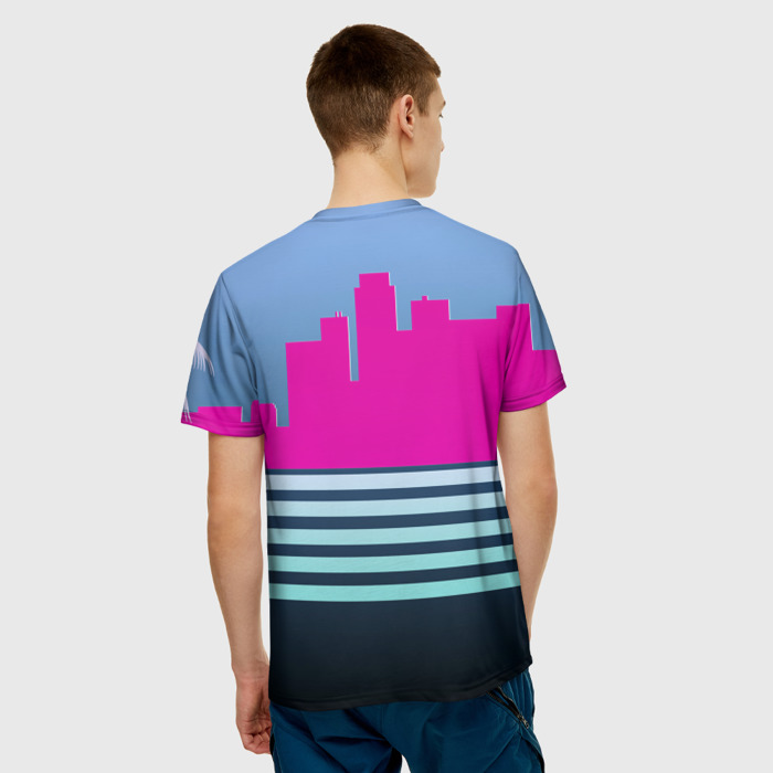 Merchandise Men'S T-Shirt Design Apparel Hotline Miami Merch