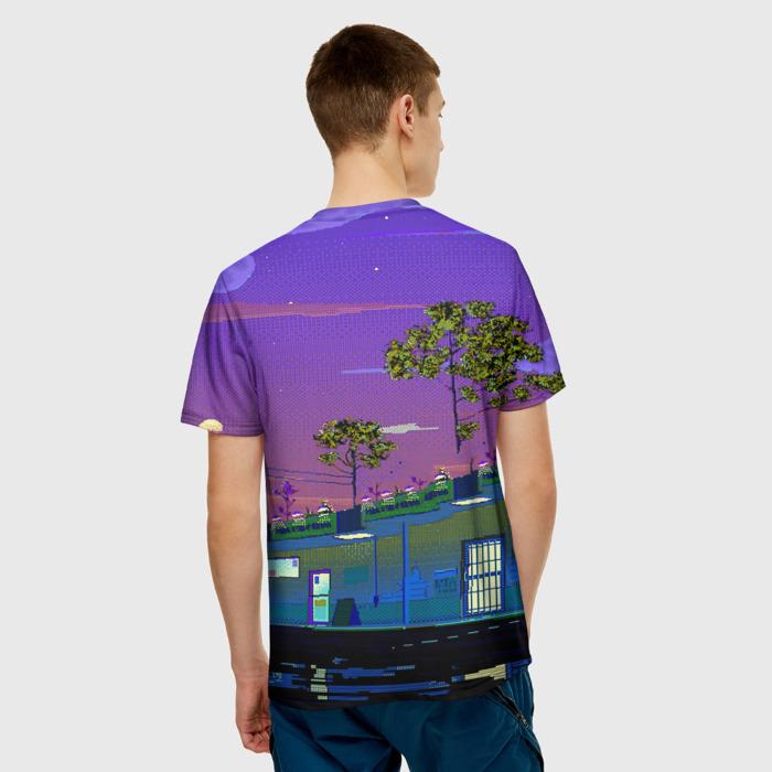 Merch Men'S T-Shirt Design Merch Hotline Miami Game Print