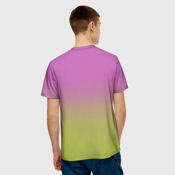 Collectibles Men'S T-Shirt Gradient Plants Vs Zombies Print Hero