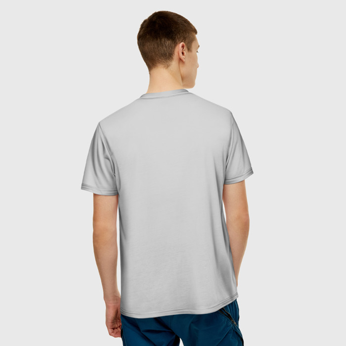 Merch Men'S T-Shirt Gray Scene Print Red Dead Redemption