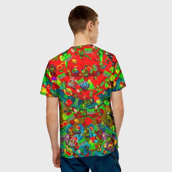 Collectibles Men'S T-Shirt Print Plants Vs Zombies Character