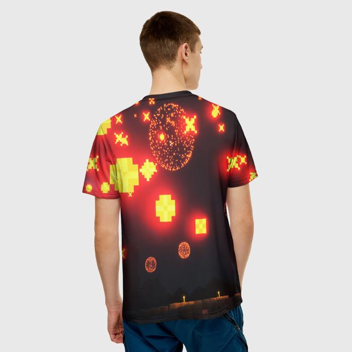 Merch Men'S T-Shirt Design Game Minecraft Pixel