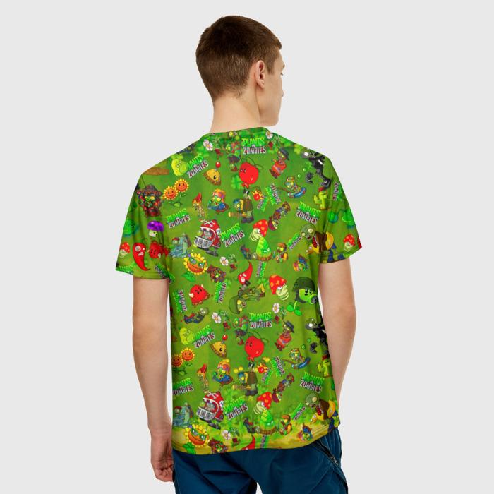 Merchandise Men'S T-Shirt Game Plants Vs Zombies Merch Design