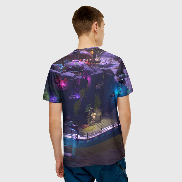 Merchandise Men'S T-Shirt Merch Design Plants Vs Zombies Text Logo