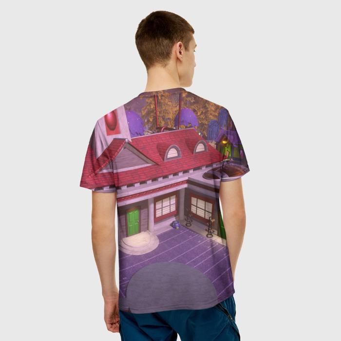 Merch Men'S T-Shirt Image Print Design Plants Vs Zombies