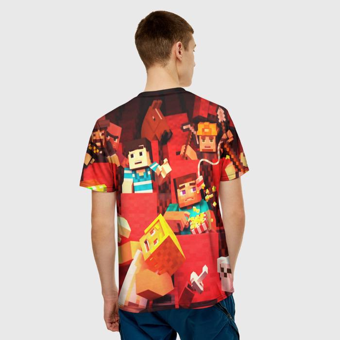 Merchandise Men'S T-Shirt Merch Characters Minecraft Print