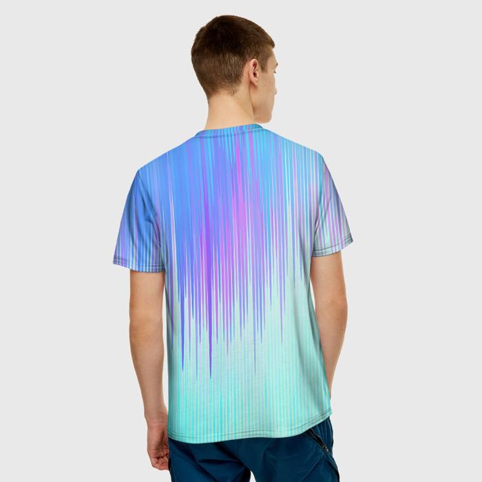 Merch Men'S T-Shirt Gradient Title Plants Vs Zombies Print