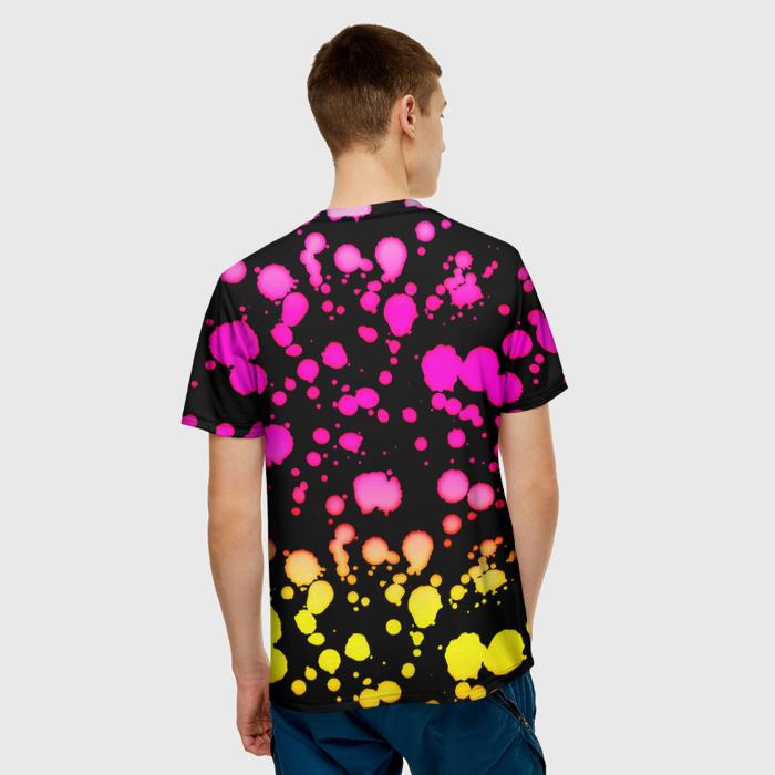 Merchandise Men'S T-Shirt Gradient Pattern Plants Vs Zombies