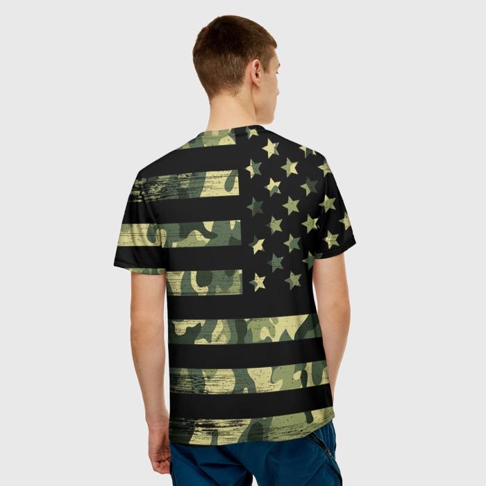Merchandise Men'S T-Shirt Flag Print Merch Metal Gear