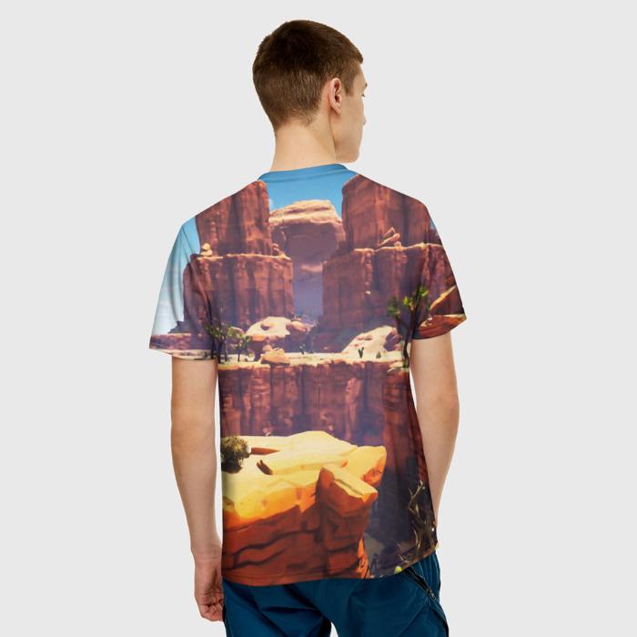 Merch Men'S T-Shirt Design Landscape Fortnite Print