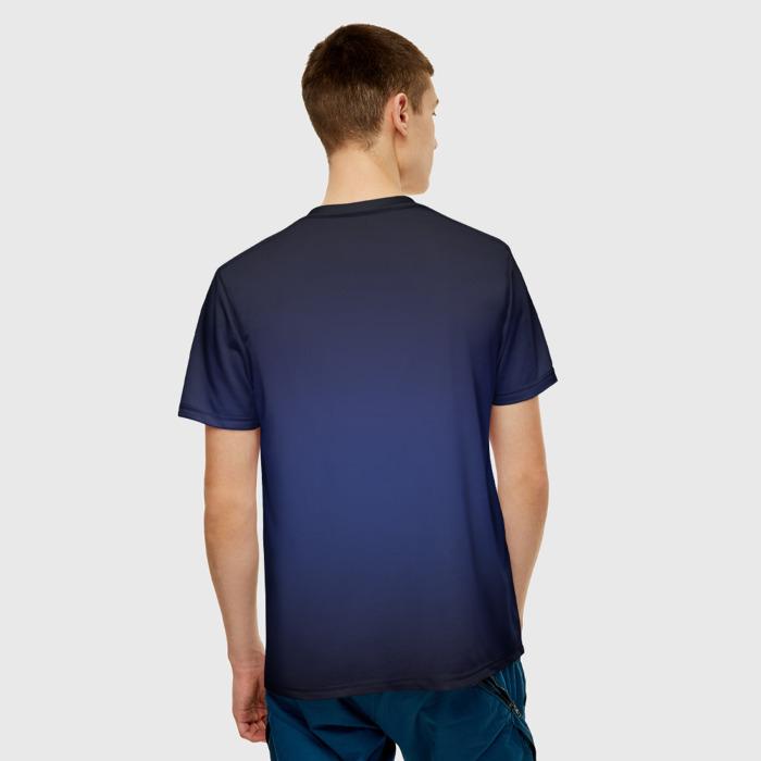 Merch Men'S T-Shirt Game Fortnite Print Purple