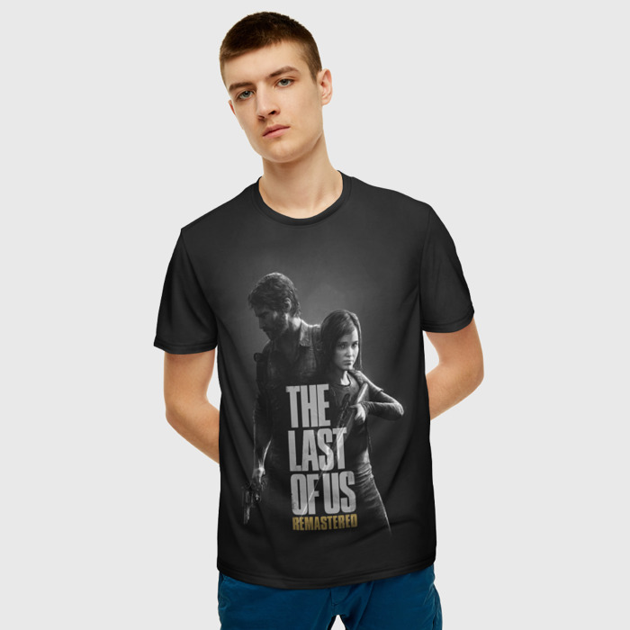 Collectibles Men'S T-Shirt The Last Of Us Clothes Black Scene