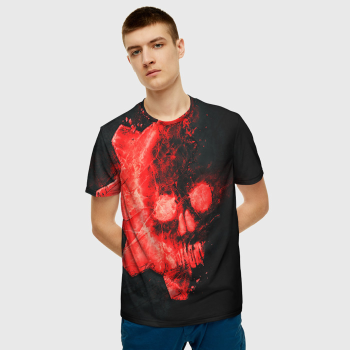 Collectibles Men'S T-Shirt Gears Of War 5 Black Clothes