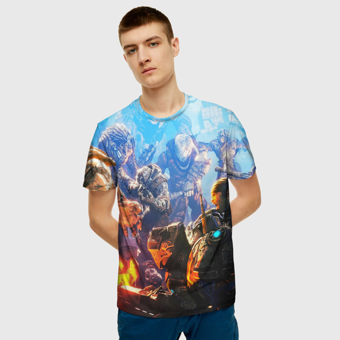 Merchandise Men'S T-Shirt Gears Of War 5 Footage Image
