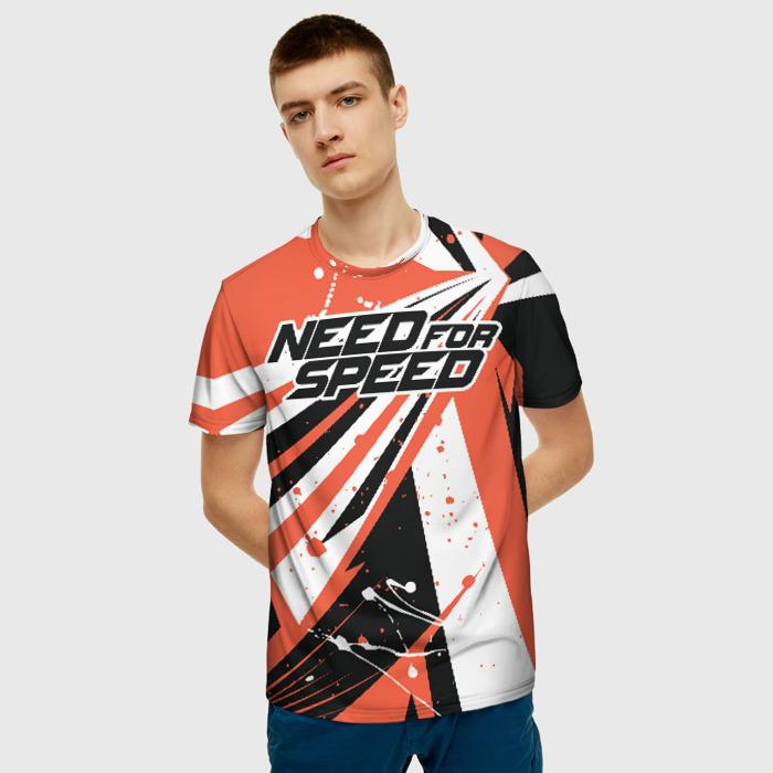 Merchandise Men'S T-Shirt Need For Speed Logo Image