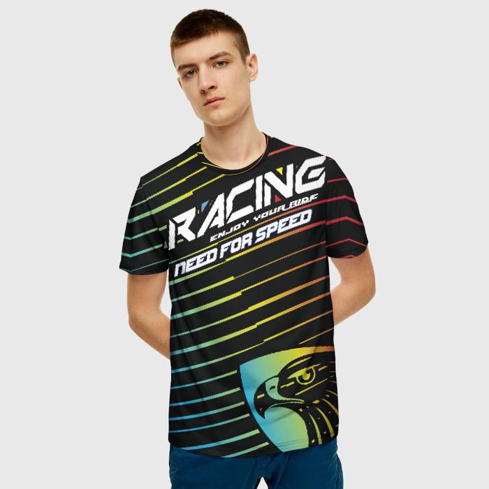 Merchandise Men'S T-Shirt Need For Speed Racing Slogan