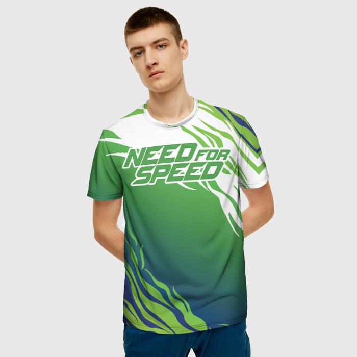 Merchandise Men T-Shirt Need For Speed Game Design