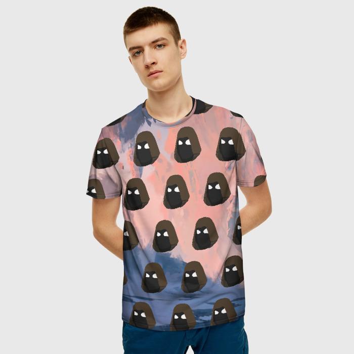 Merch Men T-Shirt Pattern Game Stalker Apparel