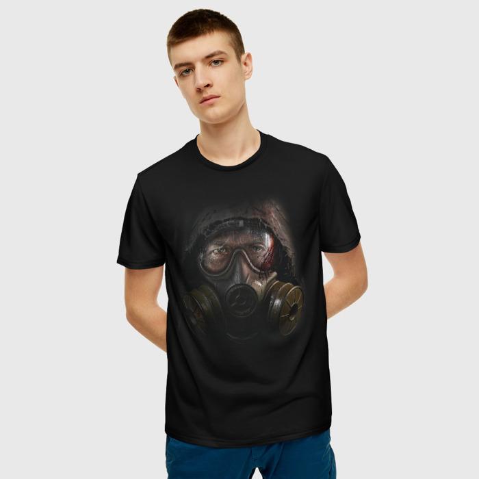 Collectibles Men T-Shirt Stalker Black Mask Hero