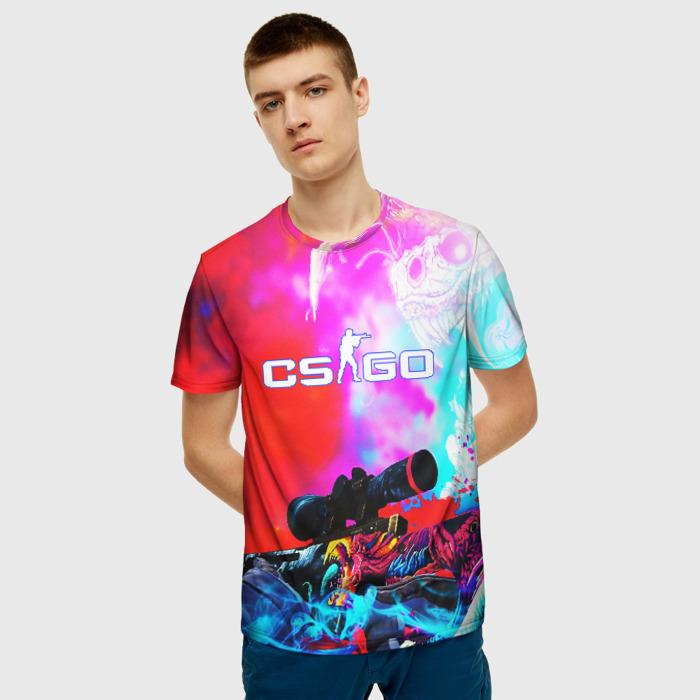 Merchandise Men'S T-Shirt Print Cs:go Footage Merchandise