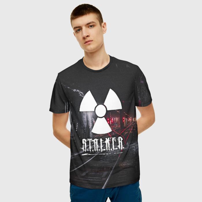 Merchandise Men'S T-Shirt Picture Game Stalker Merch Emblem