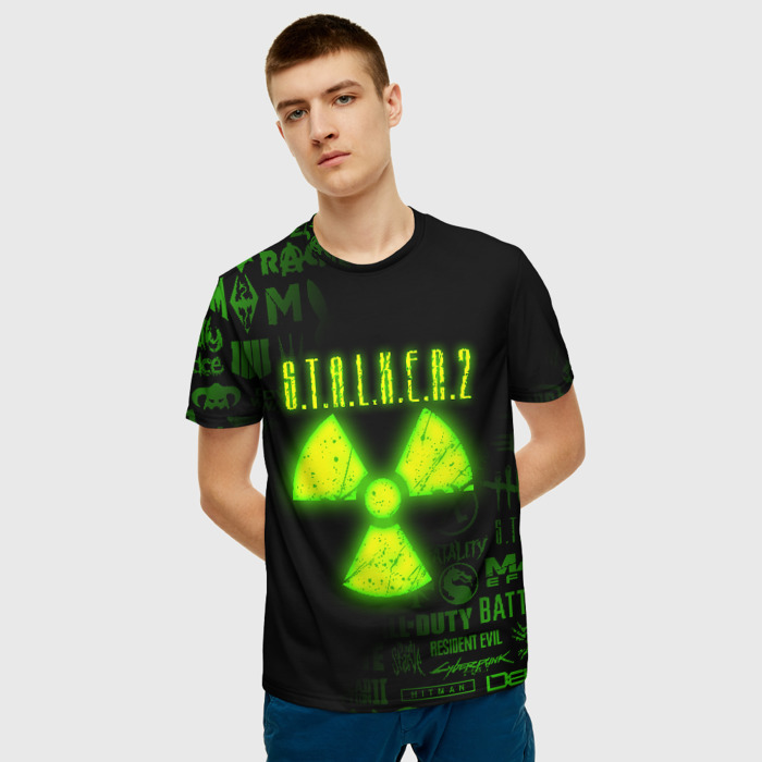 Merchandise Men'S T-Shirt Emblem Label Print Stalker Merch