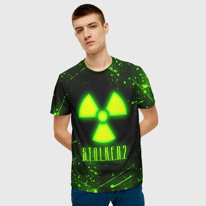 Collectibles Men'S T-Shirt Print Stalker Toxic Design Sign