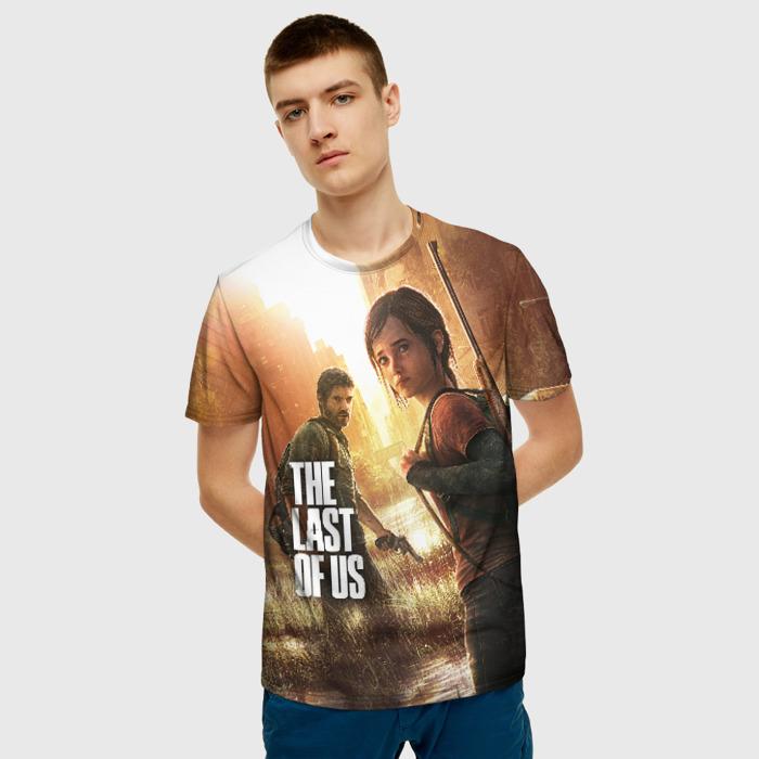Merch Men'S T-Shirt Footage Print The Last Of Us