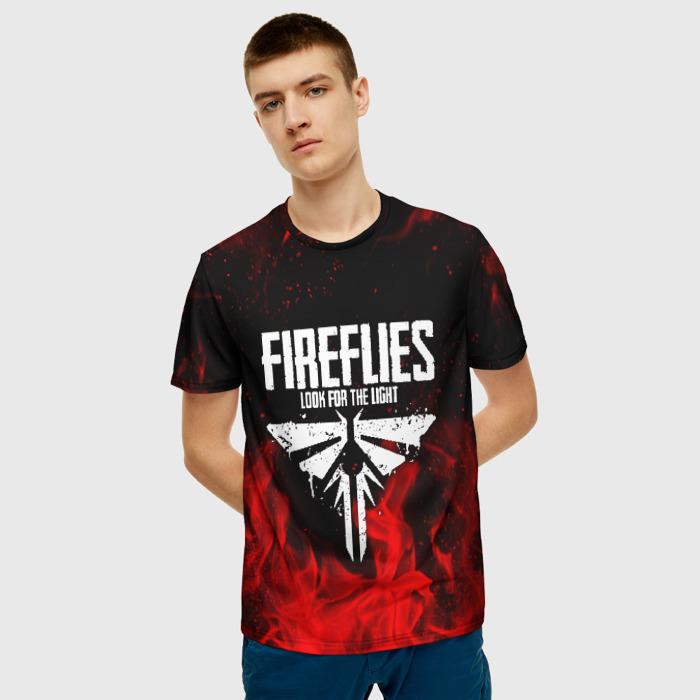 Collectibles Men'S T-Shirt Fireflies Design The Last Of Us Merchandise