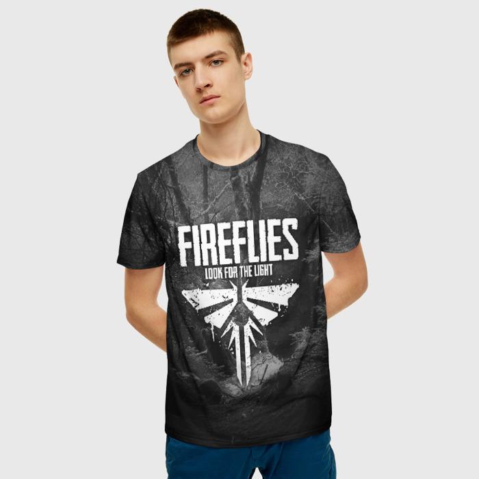Merchandise Men'S T-Shirt Emblem Fireflies The Last Of Us
