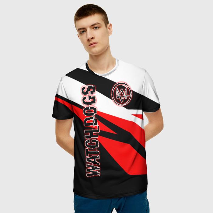 Merchandise Men'S T-Shirt Merch Game Watch Dogs Image Print