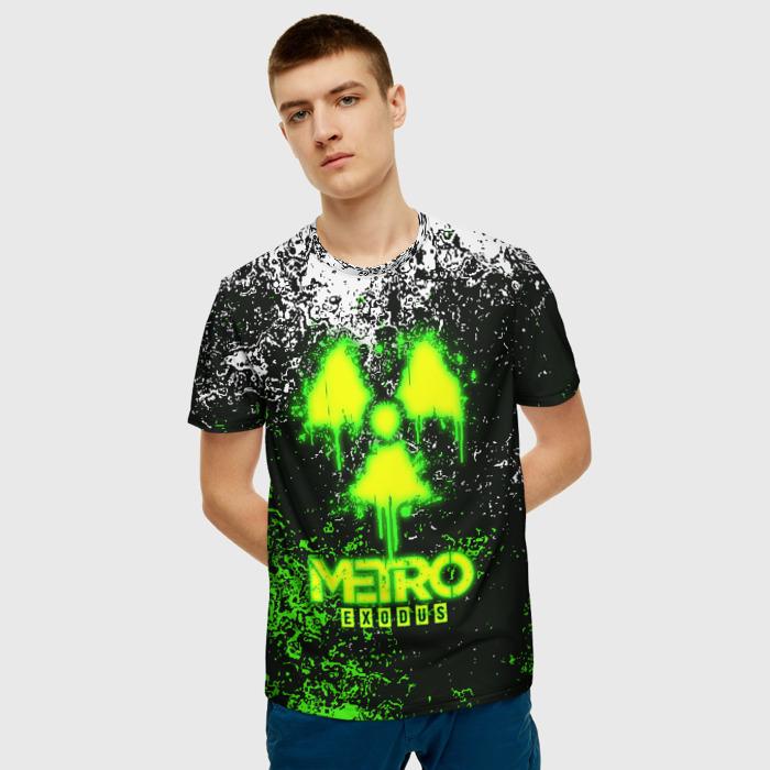 Merch Men'S T-Shirt Merchandise Design Metro Exodus