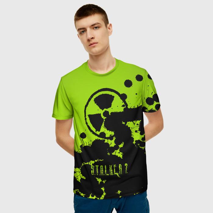 Merchandise Men'S T-Shirt Print Radiation Stalker Design