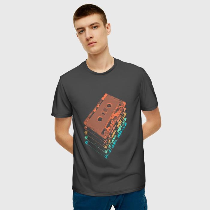 Merchandise Men'S T-Shirt Print Cassette Design Hotline Miami