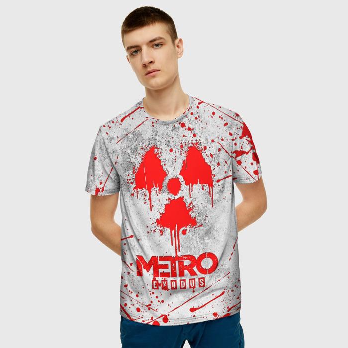 Merch Men'S T-Shirt Print Metro Exodus Game Stalker
