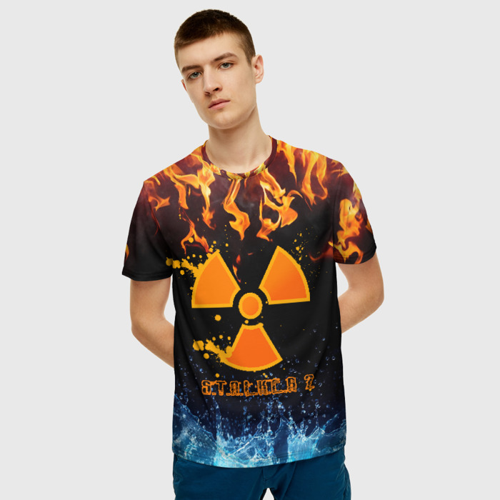 Collectibles Men'S T-Shirt Fire And Ice Print Stalker Merch