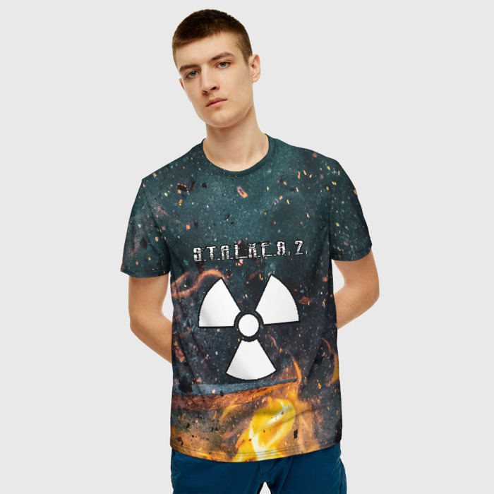 Collectibles Men'S T-Shirt Graphic Game Stalker Print
