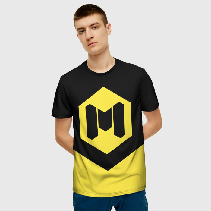 Merch Men'S T-Shirt Emblem Print Call Of Duty Design