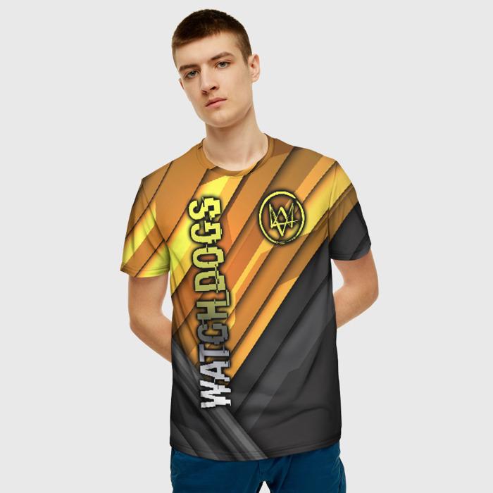 Merch Men'S T-Shirt Game Image Watch Dogs Merch