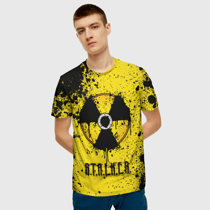 Collectibles Men'S T-Shirt Game Sign Stalker Print