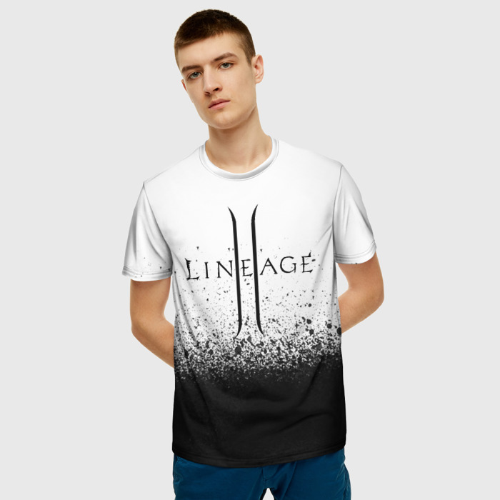 Merchandise Men'S T-Shirt Game Text Lineage Image Merch