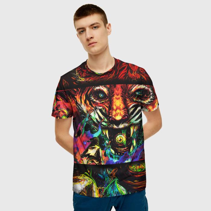 Merch Men'S T-Shirt Graphic Image Hotline Miami Game Design