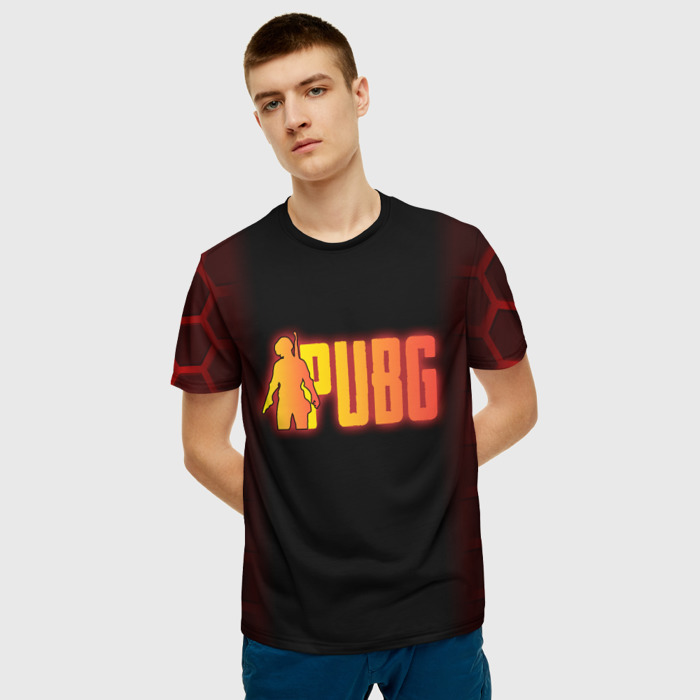 Merchandise Men'S T-Shirt Emblem Merchandise Pubg Design