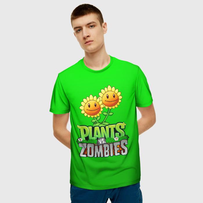 Collectibles Men'S T-Shirt Merch Plants Vs Zombies Green Image