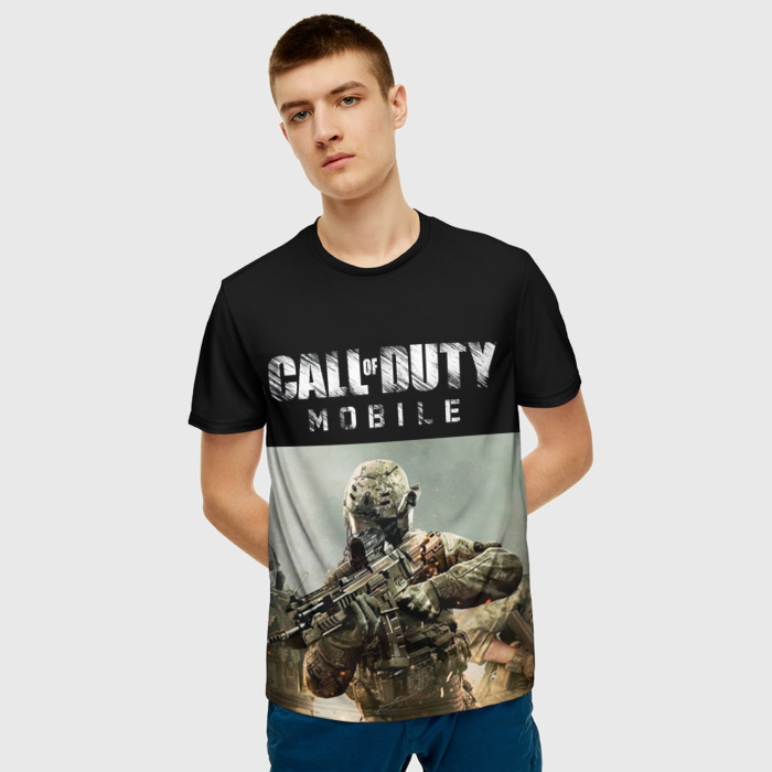 Collectibles Men'S T-Shirt Game Call Of Duty Mobile Soldier