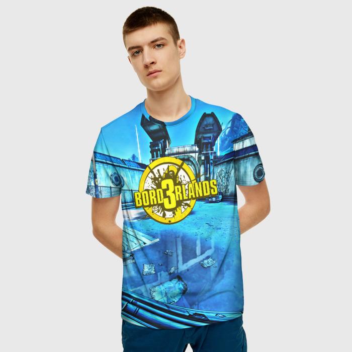 Merchandise Men'S T-Shirt Game Borderlands Print Text Merch