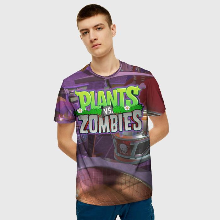 Merch Men'S T-Shirt Merch Design Text Plants Vs Zombies