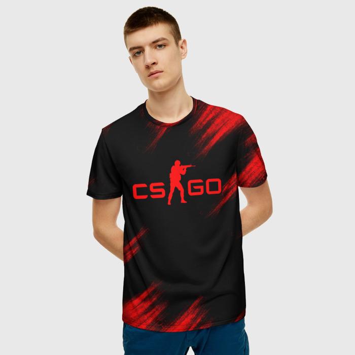 Merchandise Men'S T-Shirt Merchandise Title Black Counter Strike